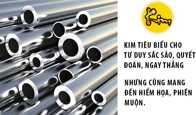 Ý nghĩa của Kim trong luận ngũ hành