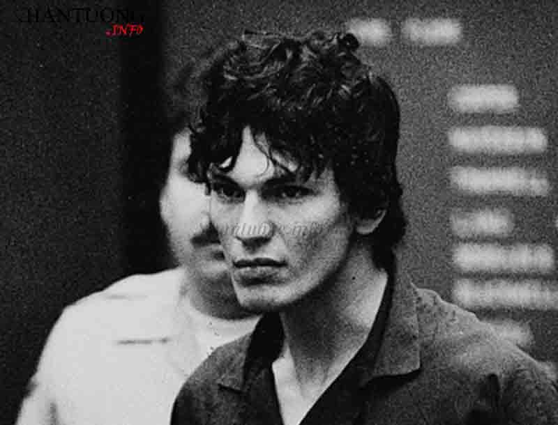 Richard Ramirez - sát nhân bóng đêm đã giết 13 mạng người là kẻ có gò má cao nhọn, má hóp