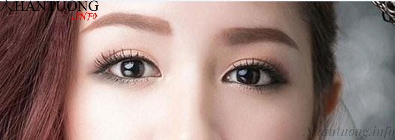 Phụ nữ có mắt long lanh như có nước, ánh nhìn có thần